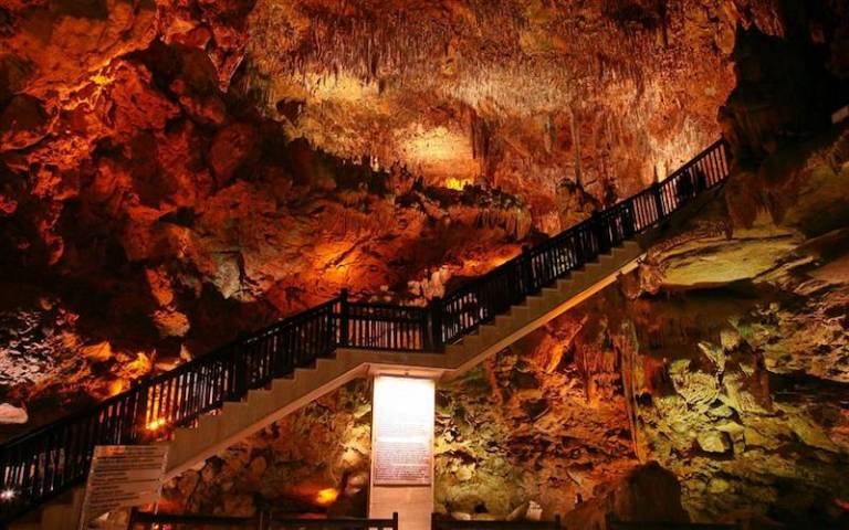 Damlatas Cave in Alanya