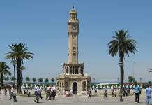 izmir city center konak square Turkey