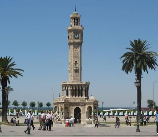 izmir city center konak square Turkey