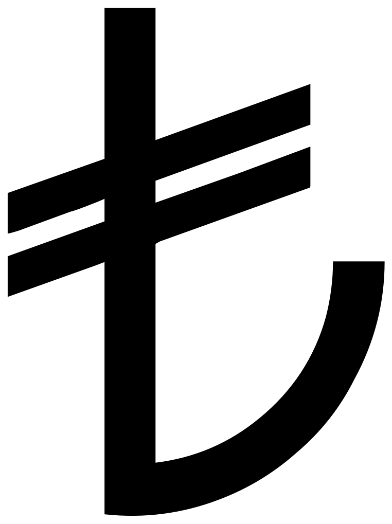 Turkish lira symbol
