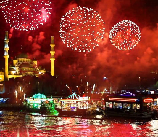 Istanbul on New Year Eve