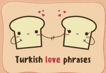 Turkish love phrases