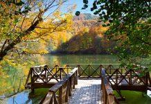 Turkey national park yedigoller