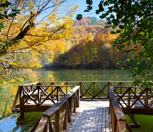 Turkey national park yedigoller
